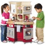 Little Tikes Retro kuchynka so zvukom červená 484377