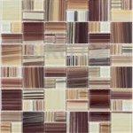 Premium Mosaic Mozaika Mix hnedo-žltá 4,8x2,3 cm - MOS4823MIX2HP