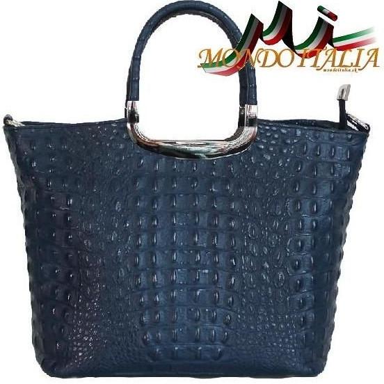 d1d99ea8ab Kabelka Made In Italy kožená kabelka 1140 modrá - Zoznamtovaru.sk