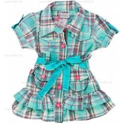 b6b577575 Detské šaty karované, tyrkysové alternatívy - Heureka.sk