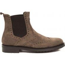 Trussardi Collection Pánske členkové topánky RL-10 CARAGLIO_Fango / Mud