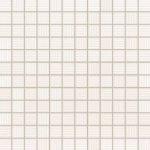 TUBADZIN COLL White mozaika rekt. 29,8x29,8 Lesklé