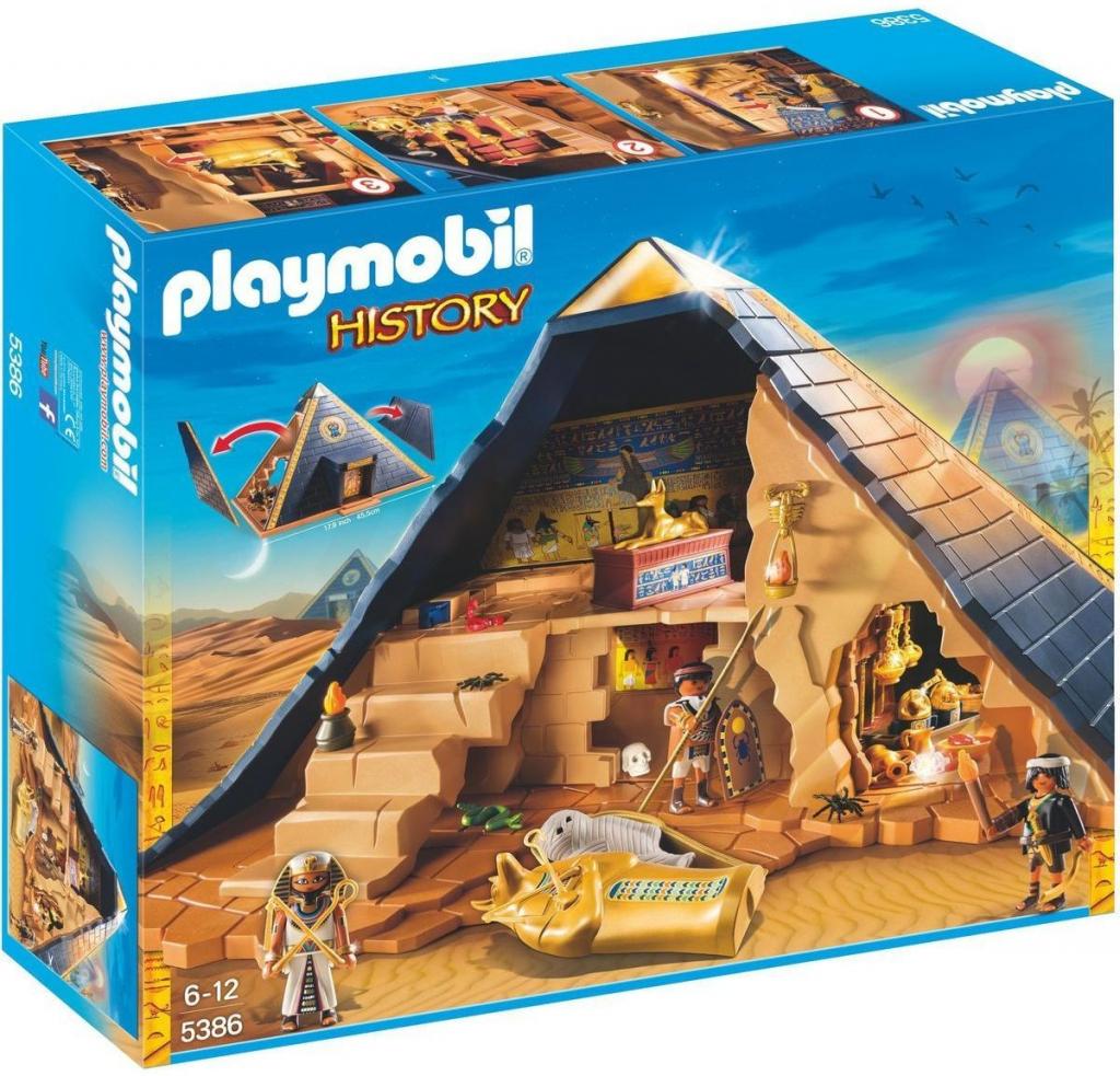 39eca61dc Playmobil 5386 Faraónova pyramída