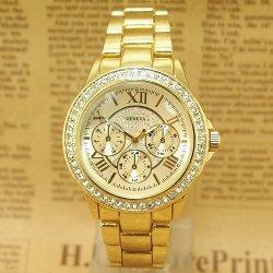 Geneva Steel Diamonds Roman S zlaté alternatívy - Heureka.sk b6da8430b0