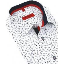 852b7103127a Venergi Slim Trendová košeľa kr.rukáv KR255