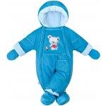 New Baby Zimná kombinéza 2v1 Winter modrá