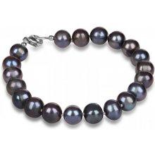 7dac65497 JwL Luxury Pearls náramok z pravých modrých perál JL0360