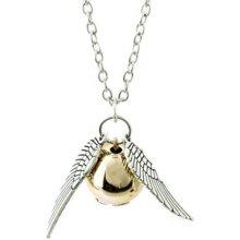 Harry Potter 5915 Zlatá strela kovový náhrdelník strieborný