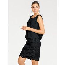 heine TIMELESS čipkované šaty čierna 4782b31e8f0