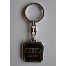 Prívesok na kľúče živicová Audi(čierna) b9b38860f03