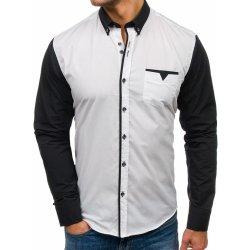 673ff28b975d Bolf pánska elegantná košeľa s dlhými rukávmi Biela 5726 alternatívy ...
