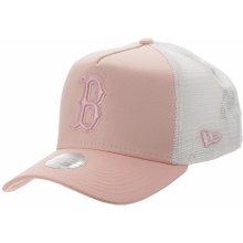 a58b03b26 New Era 9FO AF Essential Trucker MLB Boston Red Sox Pink/White