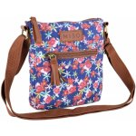 Miso Canvas Side Bag Flowers Print