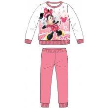 Disney by Arnetta Dievčenské pyžamo Minnie svetlo ružové