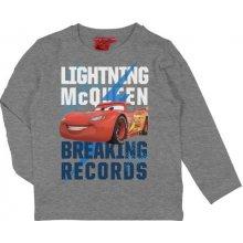 E plus M Chlapčenské tričko Cars - sivé