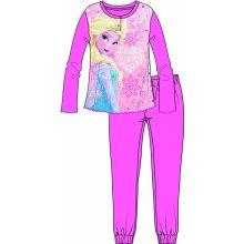 Disney by Arnetta dievčenské pyžamo Frozen ružové