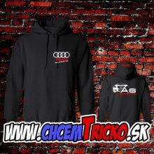 Mikina s kapucnou Audi A6
