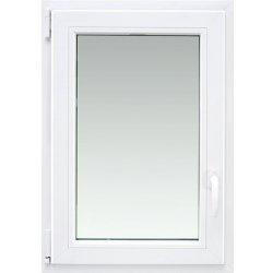 Plastové okno Aron OS1 90 x 60 cm, ľavé, biele