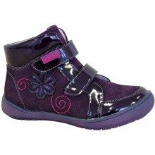 Protetika Dievčenské členkové topánky Kiki fialové d93d0e6a5f