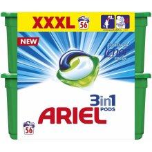 Ariel Touch of Lenor Fresh XXXL gélove tablety na pranie 56 ks