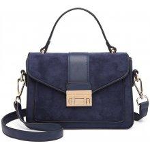 1987b317f0967 Miss Lulu štýlová modrá menšia dámska kabelka