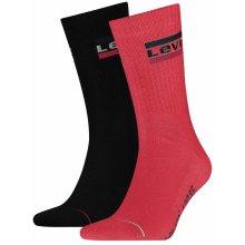 Levi s ponožky 2 Pack 37483-0062 red black 0d85b6534e
