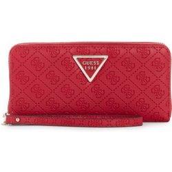 1335e32395 Guess peňaženka Kamryn Quattro G Zip-Around Wallet červená ...