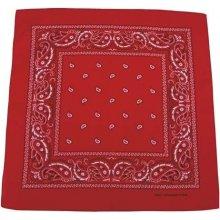 Bandana šátek červeno bílý