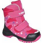 LOAP Dievčenské zimné topánky Chosee ružové