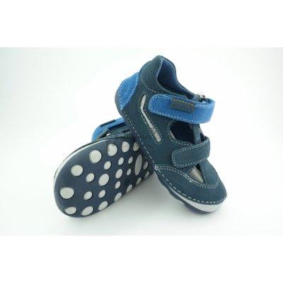 Protetika Detské letné barefoot topánky Flip Marine