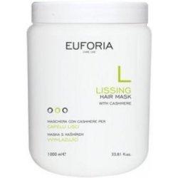 Euforia Lissing vyhladzujúca regeneračná maska na vlasy proti krepovateniu s kašmírom 1000 ml