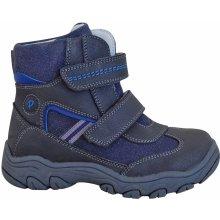 Protetika Chlapčenské zimné topánky Arko šedo modré b257216f6cf