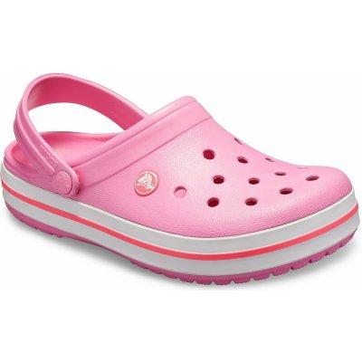 Crocs Crocband Pink Lemonade/White