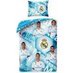 dfea9009d HALANTEX bavlna obliečky Real Madrid s fotografiami hráčov 140x200 70x90