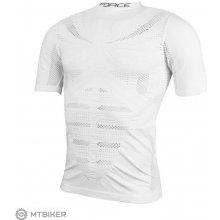 Force Wind funkčné tričko krátky rukáv biele