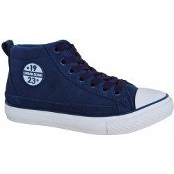 61fb39614 Protetika Chlapčenské kožené členkové tenisky Denver modré ...