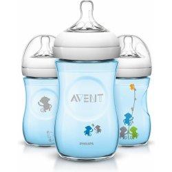 Philips Avent fľaša natural modrá opica 260 ml od 7 2a5cf6b60ce