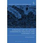 EUROPEAN LAW ON UNFAIR COMMERCIAL P Durovic Mateja