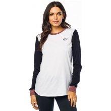 1dc854137a Fox Moto X Long Sleeve dámske tričko s dlhým rukávom white