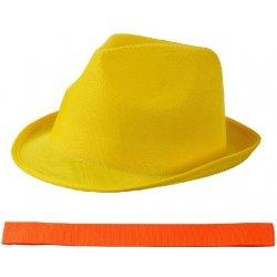 5138f57c6 Letný žltý klobúk s čiernym lemom od 8,50 € - Heureka.sk
