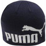 Puma Big Cat Beanie Hat čiapka Navy White bad92dfd364