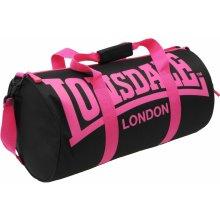 Lonsdale Barrel bag Black/Pink
