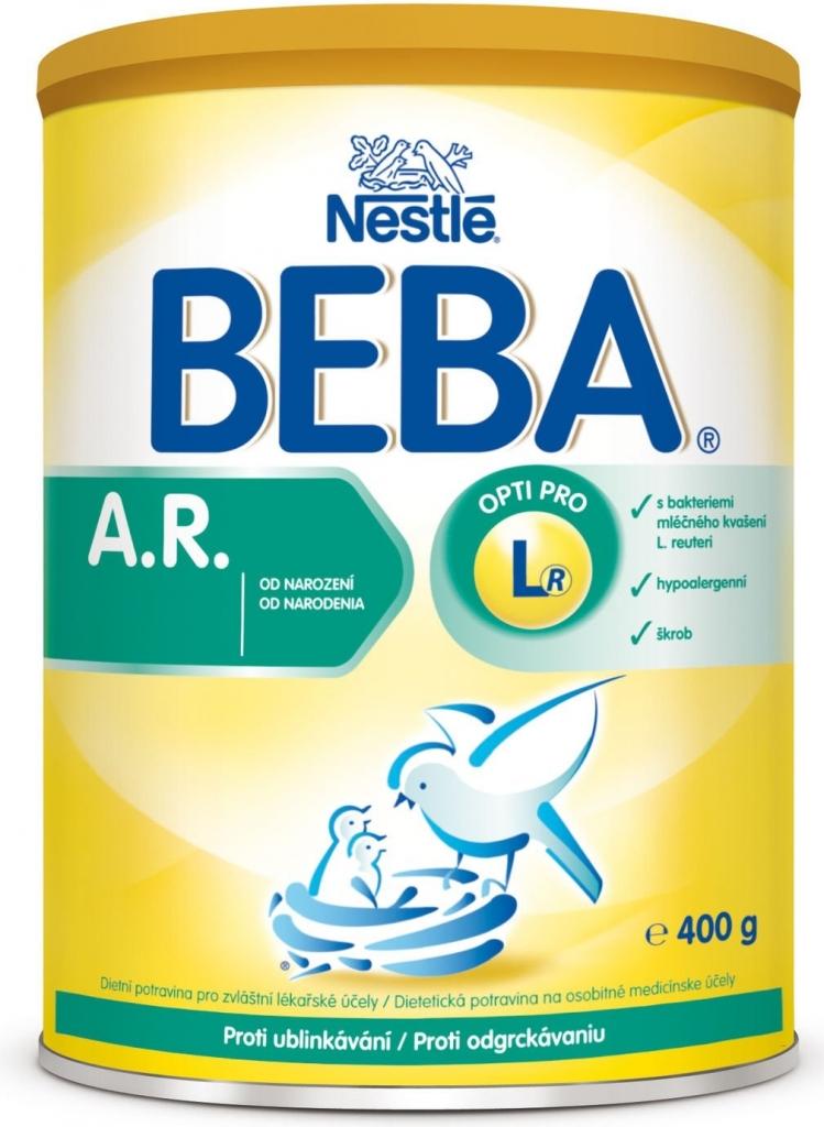 5fe3cc1b5 Špecifikácia BEBA A.R. proti ublinkávání 400 g - Heureka.sk