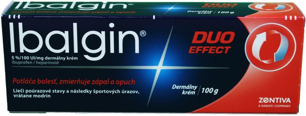 Špecifikácia Ibalgin Duo Effect crm.der.1 x 100 g - Heureka.sk f8777af9b9c