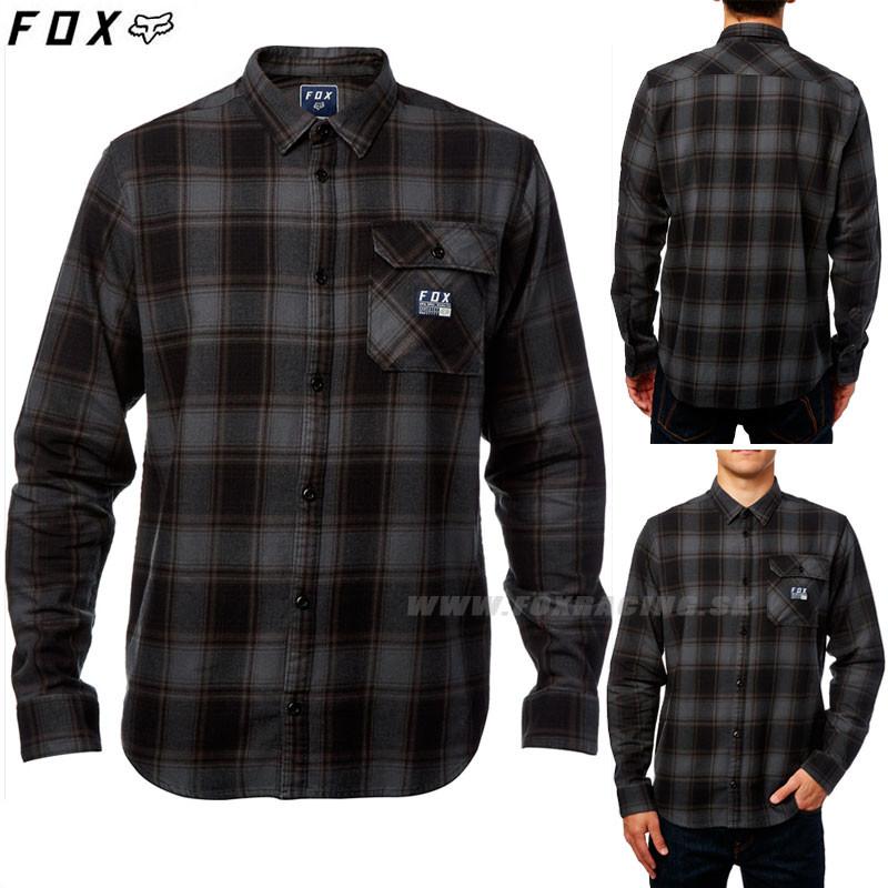 8ce157ba6cc5 Pánska košeľa Fox pánská košeľa Voyd flannel modrá - Zoznamtovaru.sk