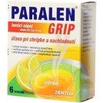 Paralen Grip horúci nápoj citrón 650 mg/10 mg plu.por.1 x 6