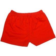 krátké nohavice červené