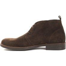 Trussardi Collection Pánske členkové topánky PL10_MOGLIA_Brown / Brown