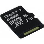 Kingston microSDXC 64GB UHS-I U1 SDC10G2/64GBSP