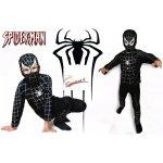 Spiderman čierny
